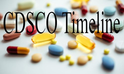 CDSCO lays down the Timeline for testing of various classes of New drugs